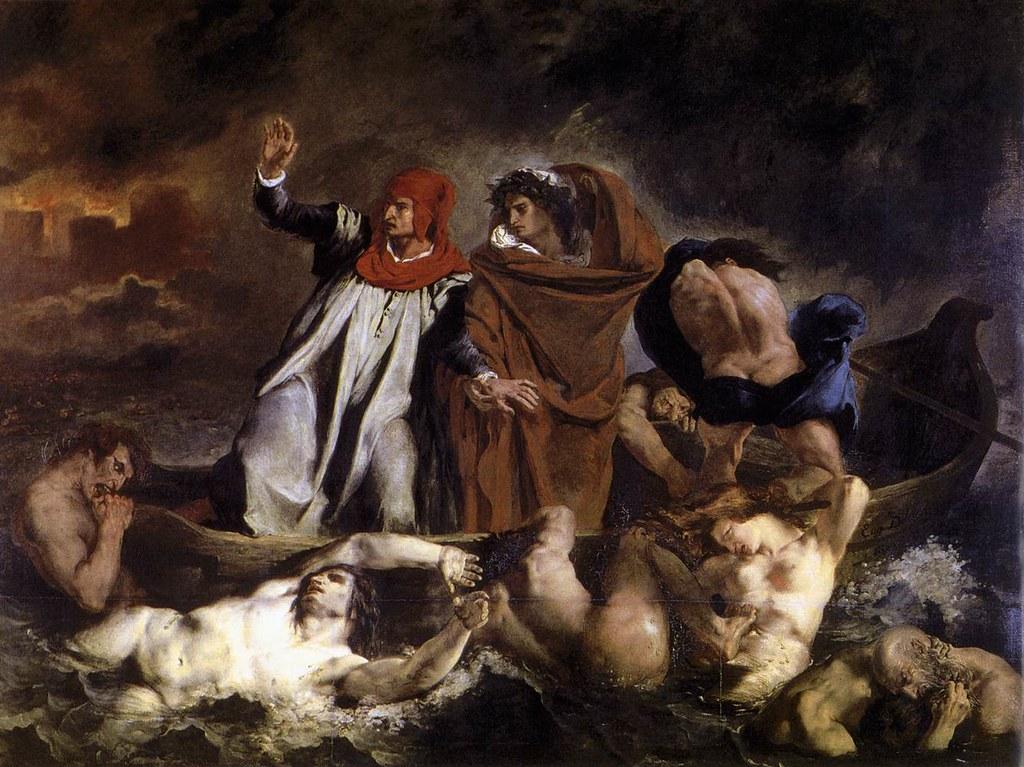 +1822 Dante y Virgilio en los Infiernos