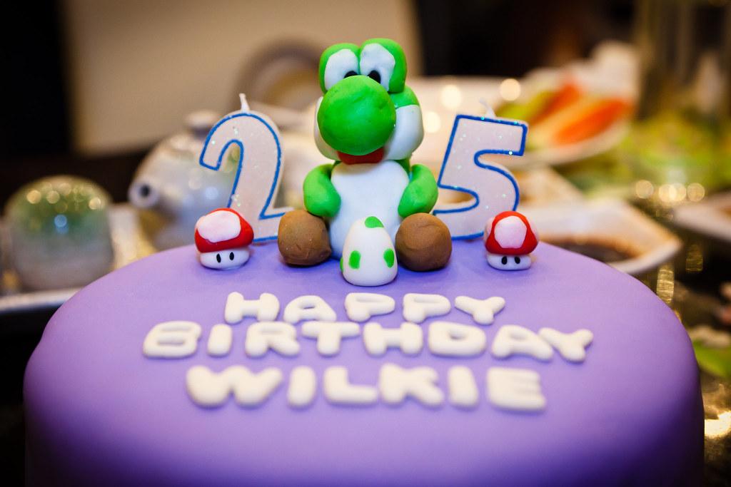 Superb Yoshi Birthday Cake Siu Panda Flickr Funny Birthday Cards Online Necthendildamsfinfo