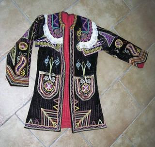 Woman's Wedding Ensemble, Outer Jacket, Tetova - Kazazi, Macedonia