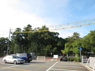 豊受大神宮、駐車場