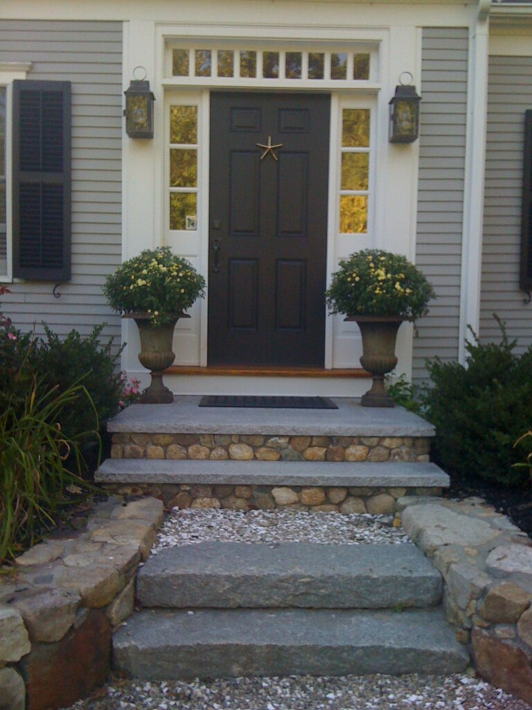 Fieldstone and Granite Front Steps   Brian Moore   Flickr