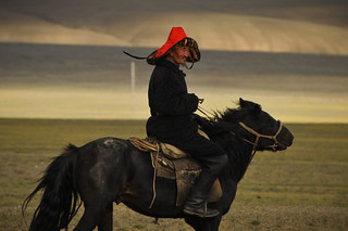 Mongolian Man on Horseback | by goingslowly