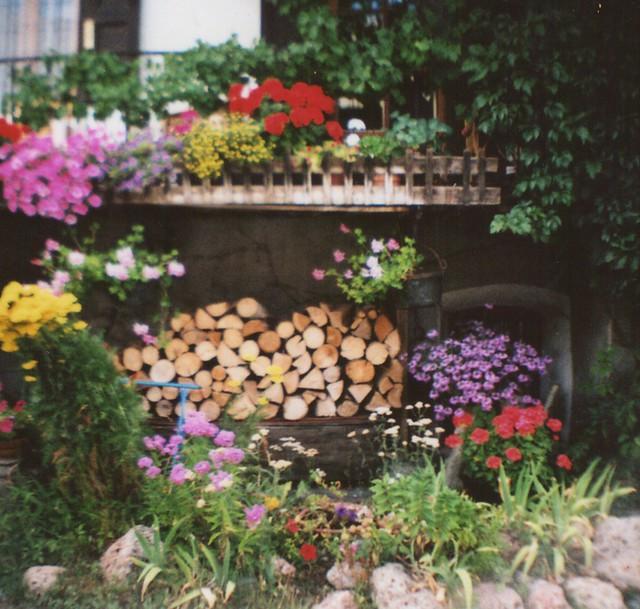 balcon fleuri