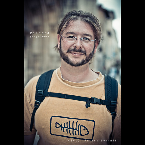 Day 70 - Richard, programmer by dominikfoto