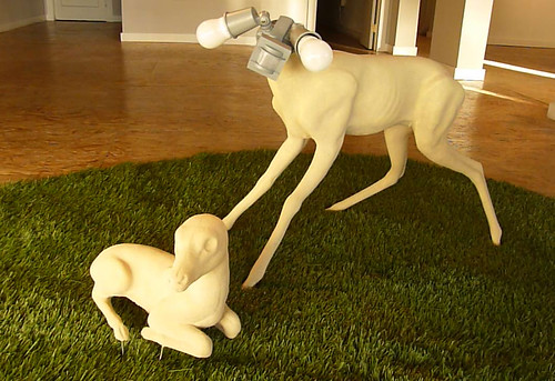 "Misako Inaoka ""Two Baby Deers"""