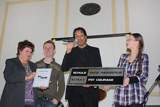 Cherno Jobatey Pate bei Schule ohne Rassismus – Schule mit Courage | by Jobatey
