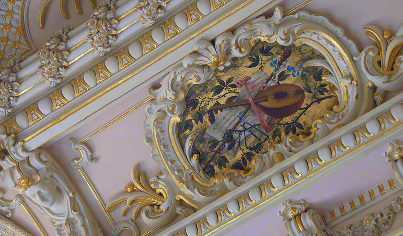 Ceiling in the Palace of Estoi