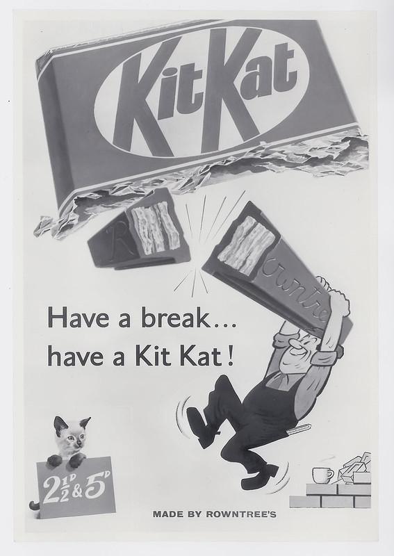 Kit Kat Poster 1957-58