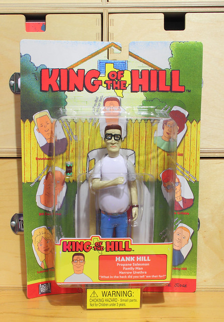 Hank Hill action figure