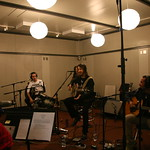 Thu, 07/10/2010 - 3:16pm - Joseph Arthur, Ben Harper and Dhani Harrison at WFUV. (10/7/10)