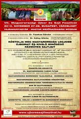 2010. november 23. 15:17 - VII. Újbor és Sajt Fesztivál