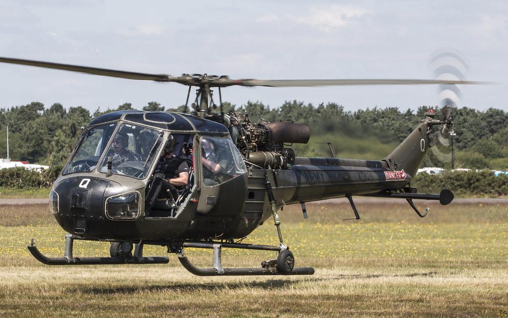 EGLK - Westland Scout AH1 - XT626