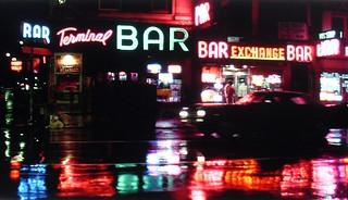1975 Terminal Bar TAXI DRIVER Marin Scorsese MOVIE Vintage 1970s NEW YORK CITY
