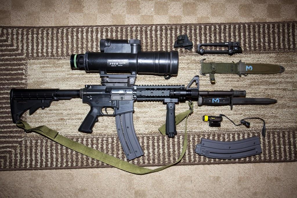 Pimped Colt M4 Carbine 22lr | Umarex rifle built by Walther … | Flickr