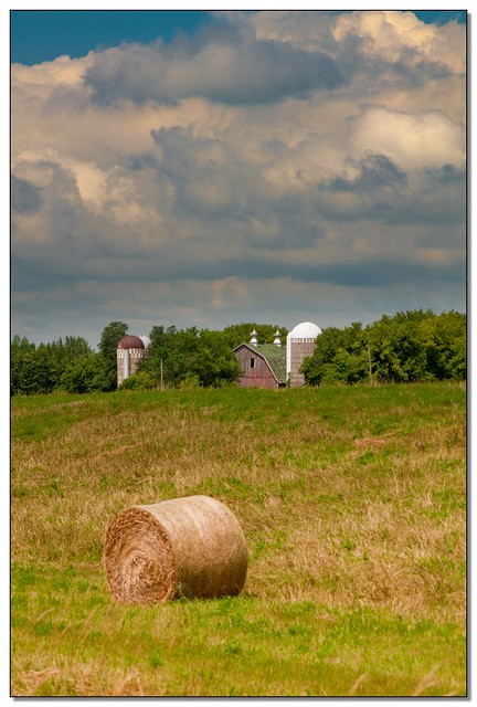Barn, Hay Roll - Minnesota