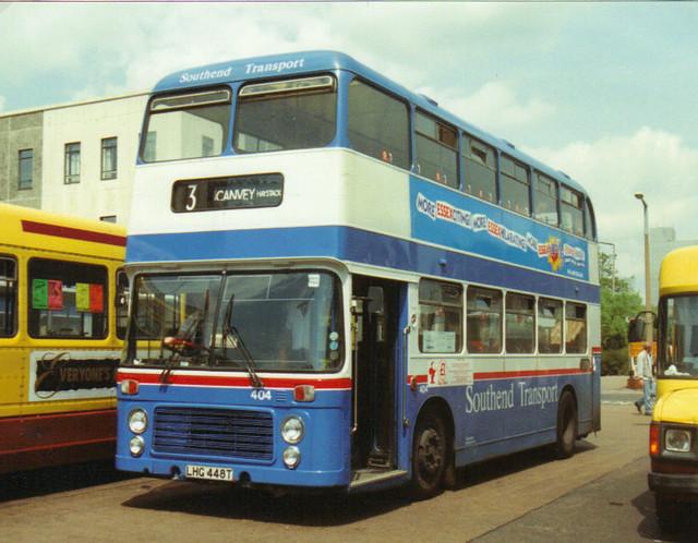 404, LHG 448T, Bristol VR, ECW Body H43-31F, 1979 (Ex-Ribble) (t.1993)
