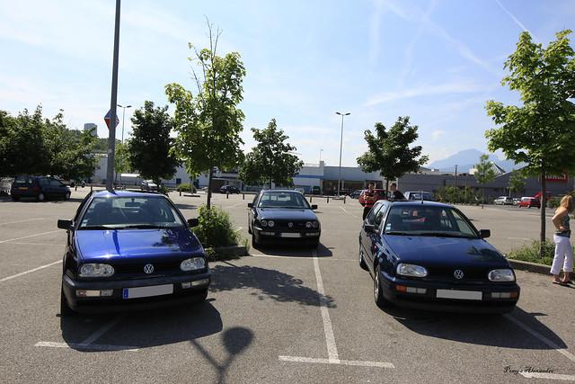 Sortie VW Golf Chambéry (73) Golf 3 TDI VR6 Diesel
