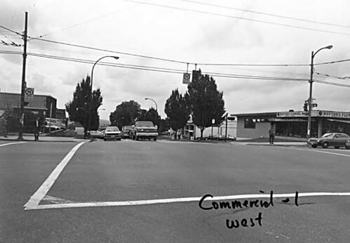 East 1st Avenue & Commercial Drive, c.1980