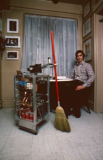 STS 1978 Finalist Jonathan Kaplan and his sweeping robot | by Society for Science & the Public (SSP)