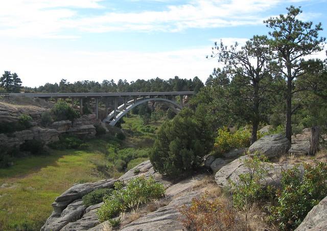 Highway Bridge over Cherry Creek