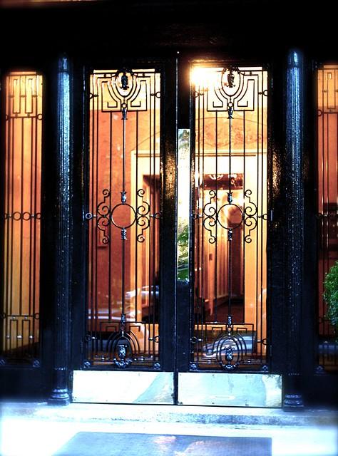 boston commonwealth avenue doorway entry
