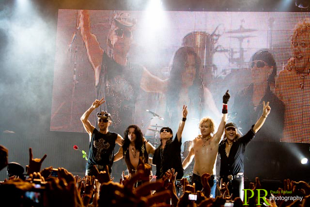 Scorpions -  Credcard Hall - SP