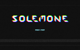 solemone 80's videogame texteffect | by solemone