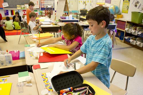 second grade writing class | by woodleywonderworks