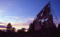Day 239/365 - Sunset at the Drive In