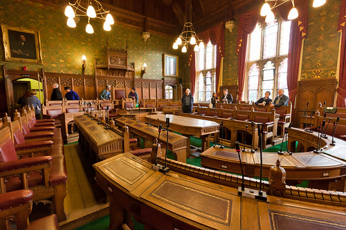 Council chamber, Guildhall, York | by alh1