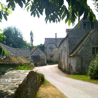 Over the bridge to Bibury Mill | by Tip Tours