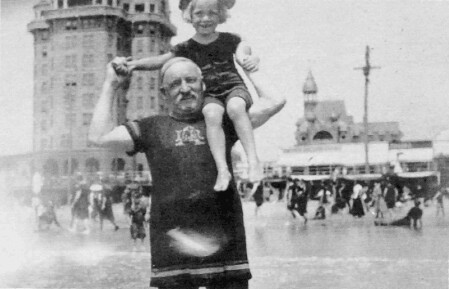 Grandfather with grandson | by W.C. Fields
