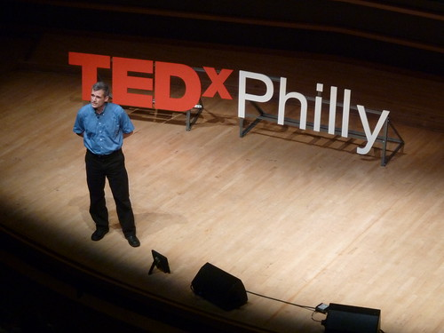 Simon Hauger at TEDxPhilly 2010