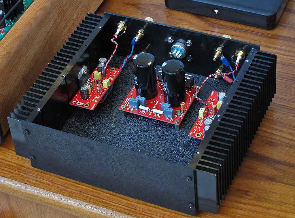 DIY: lm3886 'gainclone' stereo amplifier   next stage of the…   Flickr