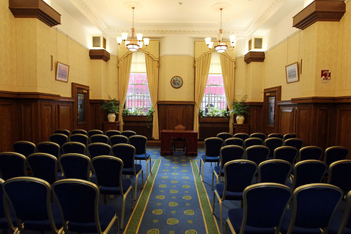 Ceremony Room, Registrars Office, Belfast City Hall