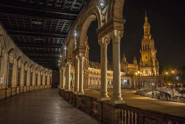 Nocturna Plaza de España