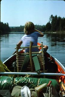 Canoe Algonquin Provincial Park 1975