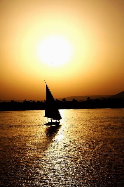 faluca en Luxor
