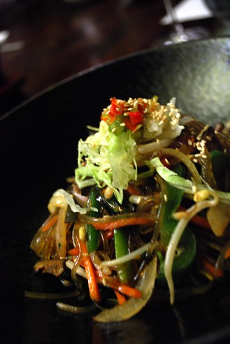 Job-chea Sweet Potato Noodle - close-up - Goshen | by avlxyz