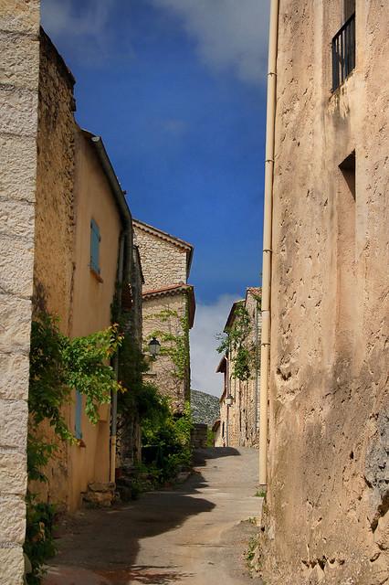 La rue - Trigance (Var)