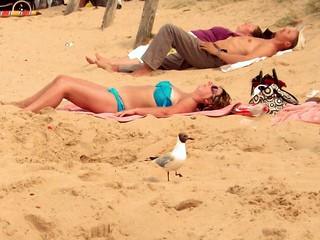 Sunbathers   by Dun.can