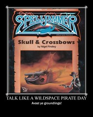 Talk Like A Wildspace Pirate Day