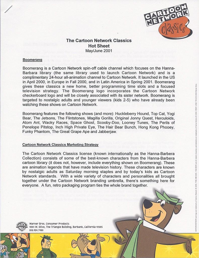 Hanna Barbera Boomerang From Cartoon Network Publicity Let Flickr