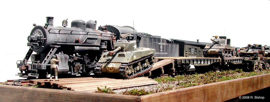 Modelcrafters Wwii U S Army Dioramas 71 Quot Mainline Amp Sid