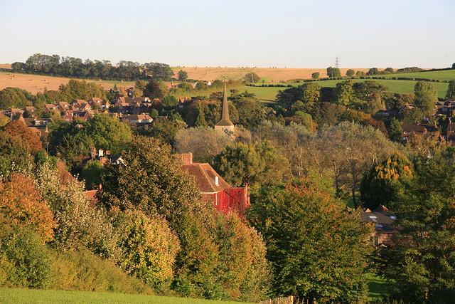 Eynsford village kent