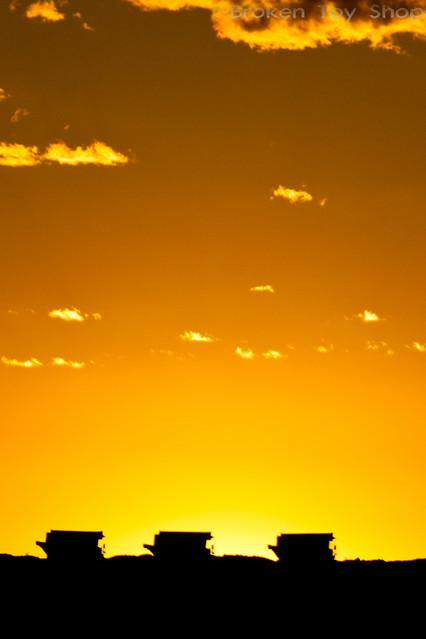 Heavy Metal Sunset