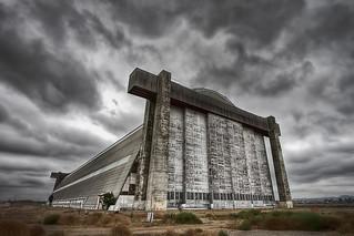 The Old Blimp Hangar | by Dave Toussaint (www.photographersnature.com)