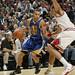 Joakim Noah defense Golden State guard Stephen Curry