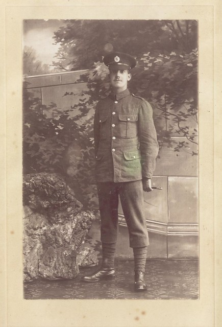 Grandfather F Drury 1918