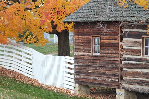 autumn building fall rural buildings landscape virginia log farm rustic shenandoah shenandoahvalley